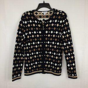 The Tog Shop Womens geometric Cardigan Sweater, S